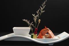 Granchio reale gastronomico Fotografia Stock