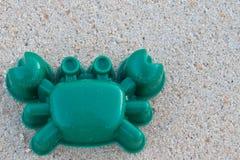 Granchio sulla spiaggia Fotografia Stock