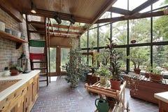 Int rieur la maison de serre chaude photo stock image - Invernaderos para casa ...