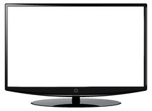 Grand écran de HD TV Photos libres de droits