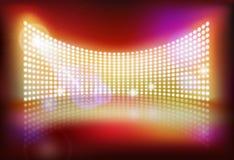 Grand écran de LED Illustration de vecteur illustration de vecteur