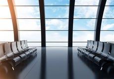 Grand aéroport de hall Photos stock