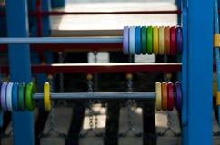 Grand abaque multicolore Photographie stock