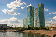 Grand Alatau in Astana Royalty Free Stock Photos