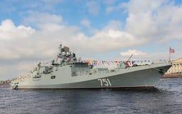 Grand amiral Essen de navire de guerre Images libres de droits