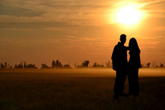Grand amour Photographie stock libre de droits