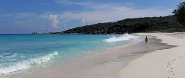 Grand Anse , La Digue island , Seychelles Stock Image