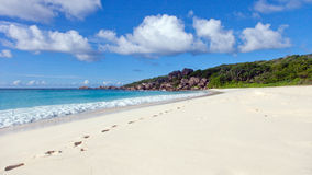 Grand Anse. La Digue, Seychelles Stock Image