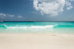 Grand Anse, La Digue, Seychelles Royalty Free Stock Photography