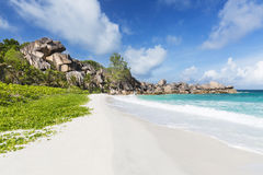 Grand Anse, La Digue, Seychelles Stock Photo