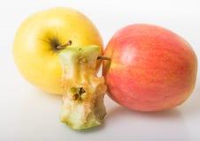 grand Apple mûr jaune Photo stock
