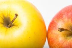 grand Apple mûr jaune Images stock