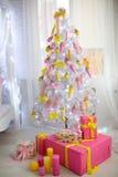 Grand arbre de Noël Photos libres de droits