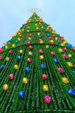 Grand arbre de Noël Image stock