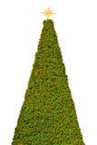 Grand arbre de Noël d'isolement Photographie stock libre de droits