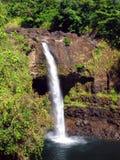 grand arc-en-ciel d'île d'Hawaï d'automnes Image libre de droits