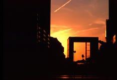 Grand Arch - La Defense royalty free stock photography