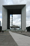 The Grand Arch in La Defense district Stock Photography