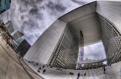 Grand Arche de la Defense, París Foto de archivo libre de regalías