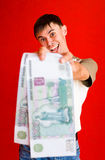 Grand argent images libres de droits