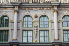 The Grand Armoury in Gdansk, Poland Stock Images