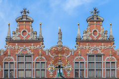 The Grand Armoury in Gdansk, Poland Royalty Free Stock Images