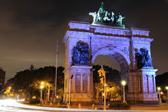 Grand Army Plaza Royalty Free Stock Images