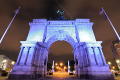 Grand Army Plaza Stock Photo