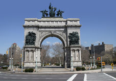 Grand army plaza, Royalty Free Stock Photos