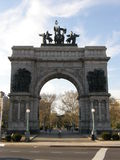 Grand Army Plaza in Brooklyn, New York City Royalty Free Stock Photo