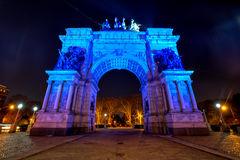Grand Army Plaza in Brooklyn, New York City Stock Photography