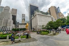 Grand Army Plaza (Manhattan) Royalty Free Stock Image