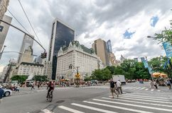 Grand Army Plaza (Manhattan) Stock Photo