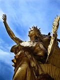 Grand Army Plaza Statue in Manhattan Royalty Free Stock Photography