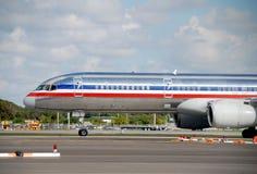 Grand avion d'avion à réaction photo libre de droits