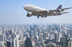 Grand avion de passager Photographie stock