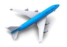 Grand avion de passagers Photo libre de droits