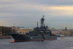 Grand bâtiment de débarquement Korolyov Photographie stock libre de droits