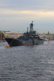 Grand bâtiment de débarquement Korolyov Photos stock