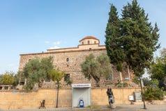Grand bâtiment de mosquée dans Dydim, province d'Aydin de la Turquie photos stock