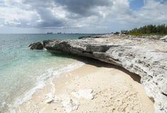 Grand Bahama Coastline Royalty Free Stock Images