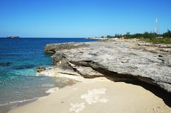 Grand Bahama Island Coastline Royalty Free Stock Photos