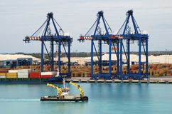 Grand Bahama Island Port Stock Photo