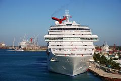 Grand Bahama Island Port Stock Image