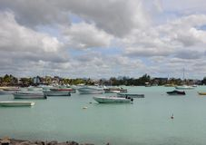 Grand Baie 1. Grand Baie, the city in the north of Mauritius Royalty Free Stock Image