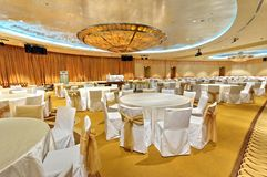 Grand ballroom Royalty Free Stock Photos