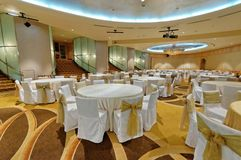 Grand ballroom Royalty Free Stock Photo
