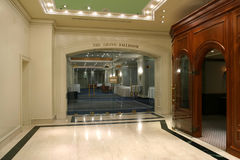 The grand ballroom Stock Image