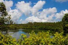 Grand bassin lake Royalty Free Stock Image