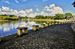 Grand Bassin, sacred lake, Mauritius Royalty Free Stock Photos